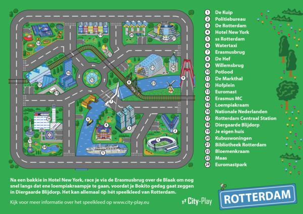 Plattegrond Speelkleed Rotterdam